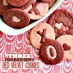 Valentine Red Velvet Cookies ~ Three Ingredients