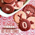 Red Velvet Cookies ~ Three Ingredients