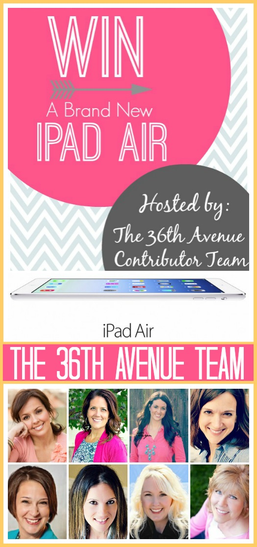 iPad Air GIVEAWAY!!!!! Click on the image and enter to win it!
