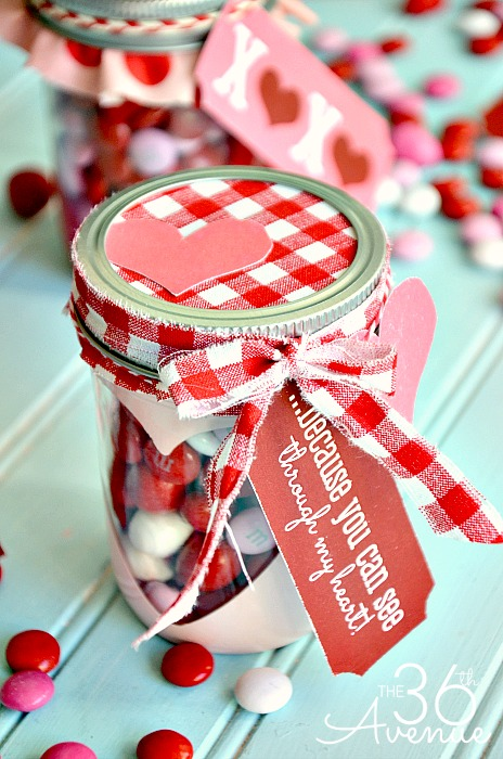 Free Valentine Printable And Heart Candy Jar The 36th Avenue