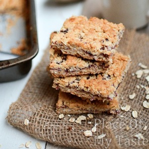 Blueberry Oatmeal Bar Recipe