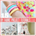 15 Fabric Projects and Giveaway