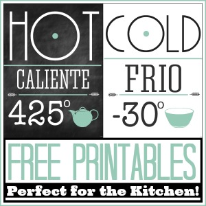 Free Printable Kitchen Set