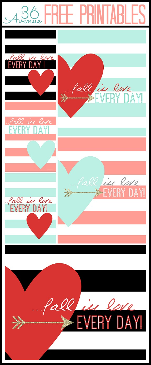 Adorable Free Printables at the36thavenue.com Pin it now and print them later!
