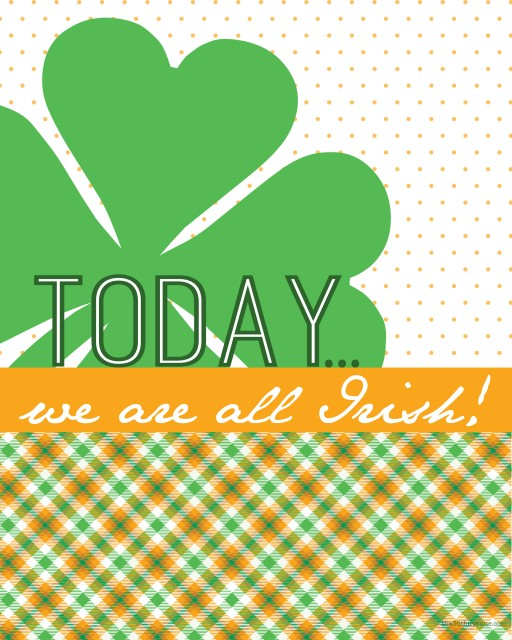 St. Patrick's Day Free Printables... Lucky! #holidays #printables