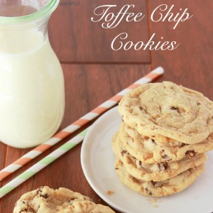 Toffee Chip Cookie Recipe
