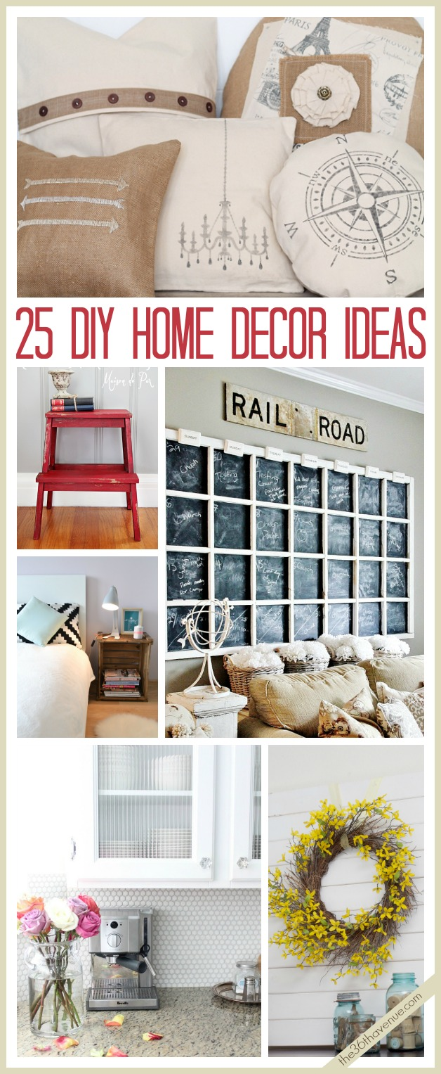 25 Fabulous DIY Home Decor Ideas @the36thavenue #home #decor