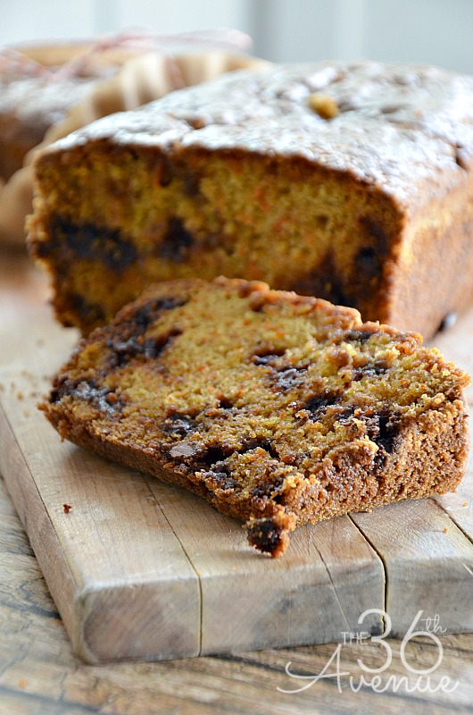 Delicious Carrot Bread Recipe... Yum, yum, good! @the36thavenue #recipes