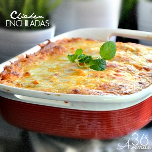 Chicken Enchiladas 300