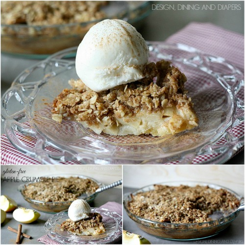 Apple Crumble Pie – Gluten Free