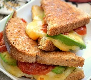 Loaded Grill Cheese Sandwich