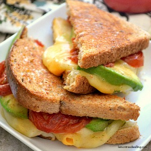 Loaded Grilled Cheese Sandwich