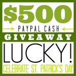 20 St. Patricks Day Ideas and $500 Giveaway