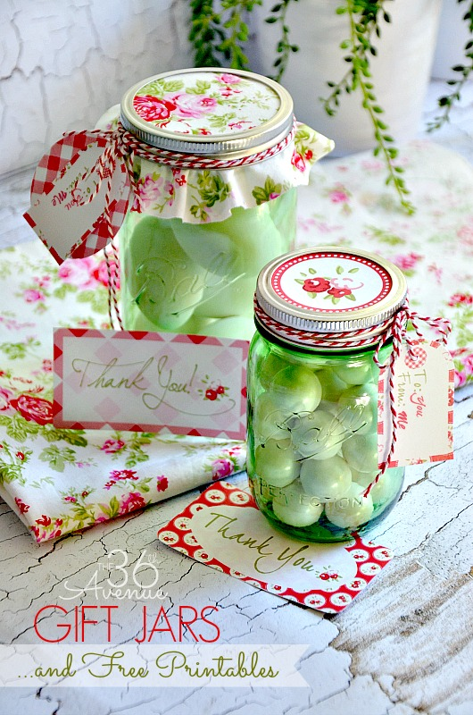 DIY Gift Idea using Mason Jars. #heritagecollection