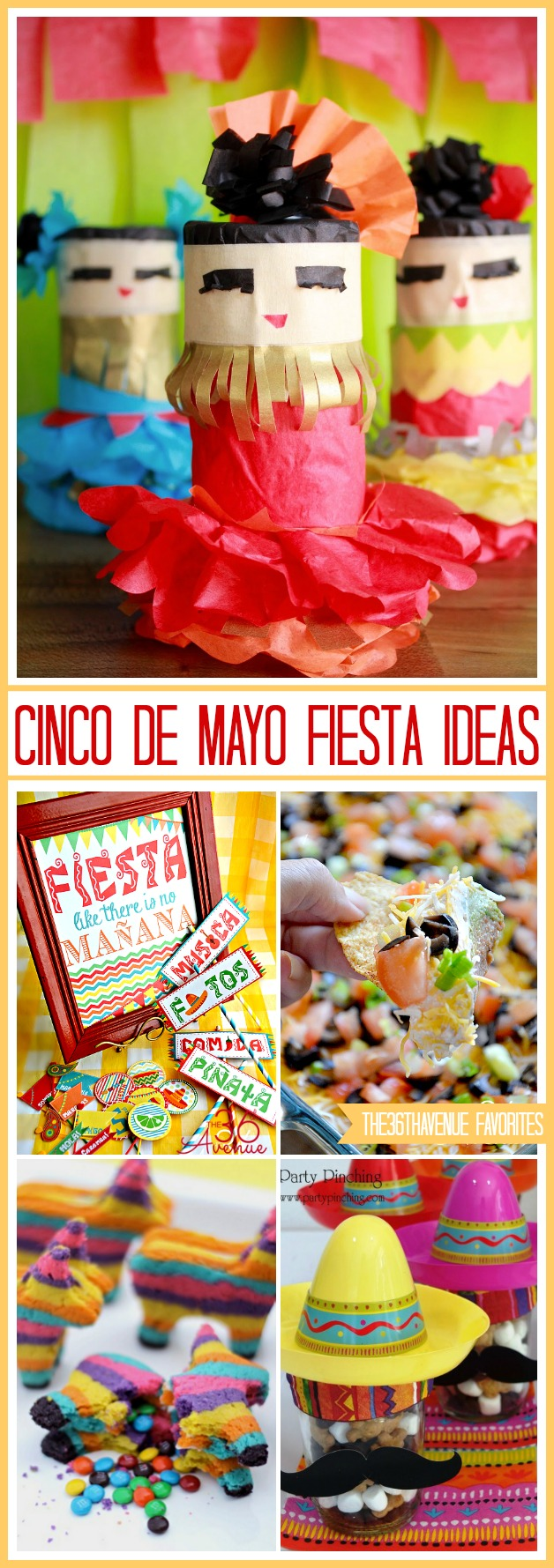 Cinco de Mayo FIESTA Ideas at  the36thavenue.com