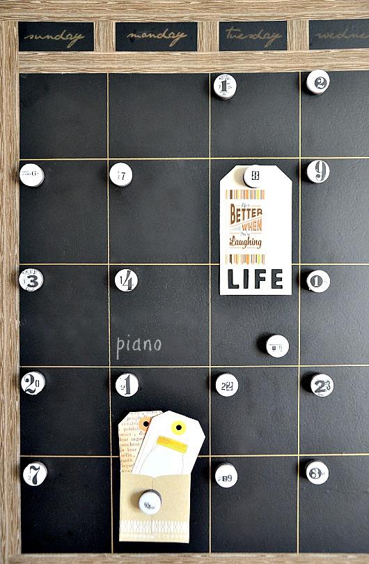 DIY Calendar the36thavenue.com