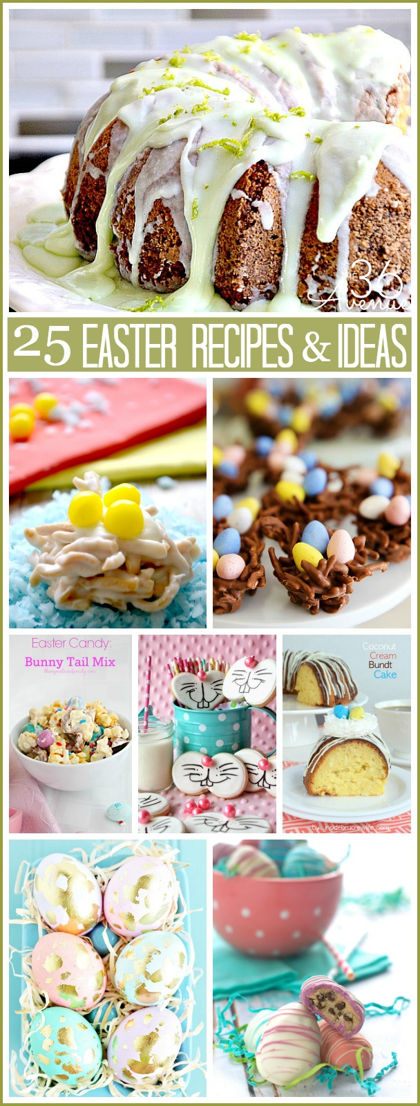 Easter Recipes and Ideas the36thavenue.com