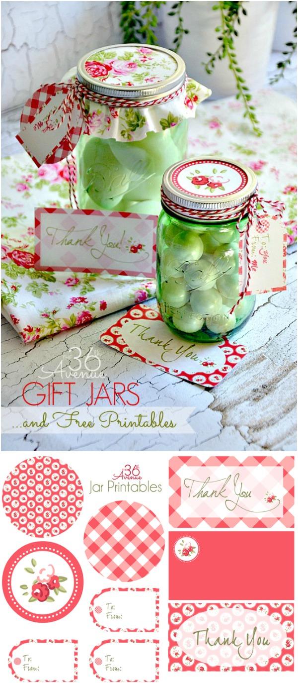 Free Printable And Gift Jar Idea The 36th Avenue