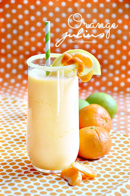 Orange Julius Recipe the36thavenue.com