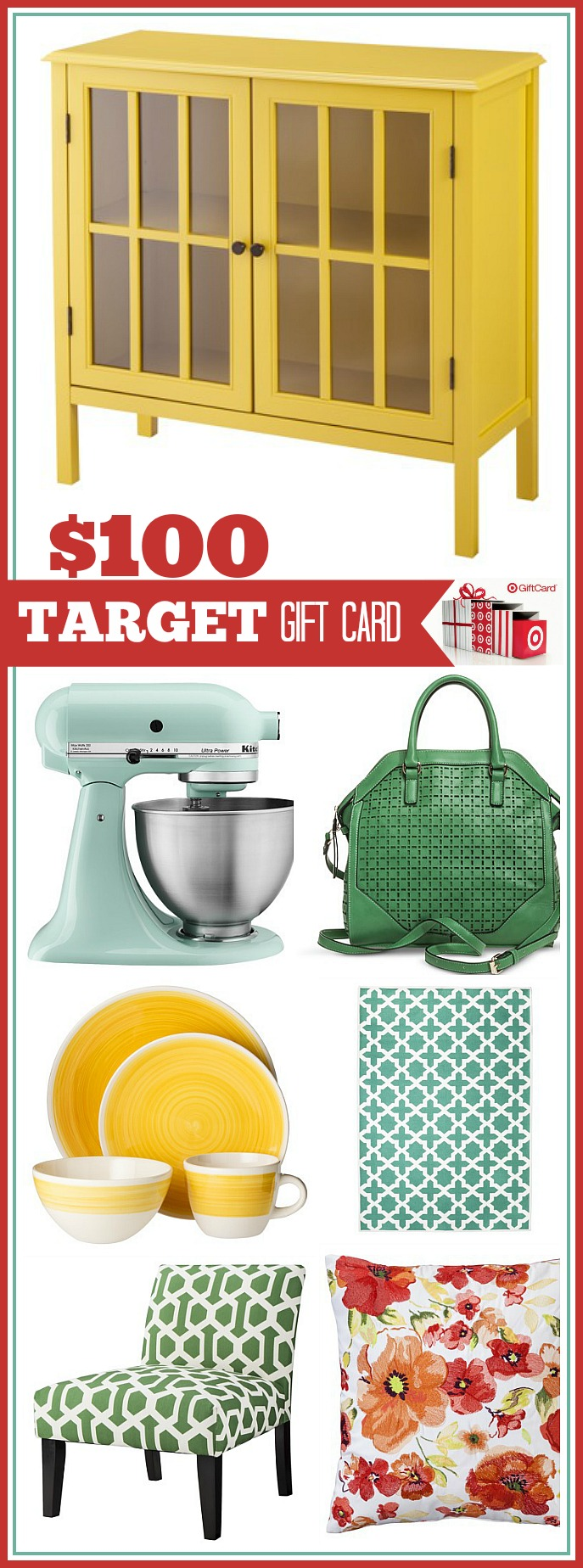 Click on the image to visit the36thavenue.com and enter to win $100 Target Gift Card GIVEAWAY!