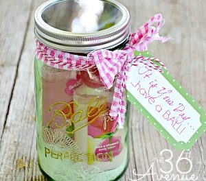 Jar Gift Idea and Free Printable