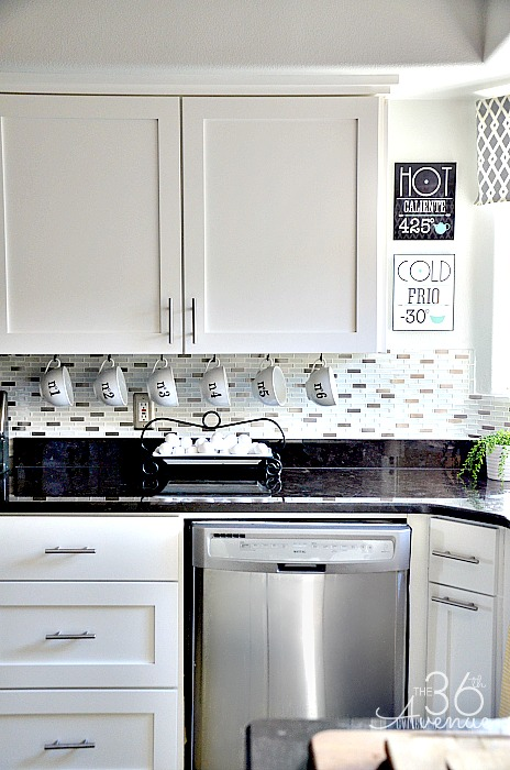 White Kitchen Makeover The 36th Avenue