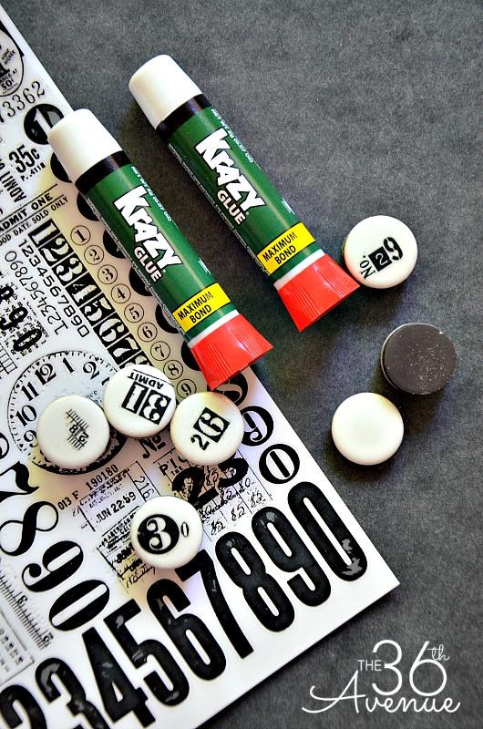 DIY Magnets at the36thavenue.com