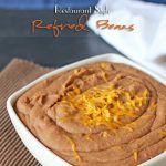 Refried Beans Recipe ~ Restaurant Style