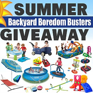 Backyard Boredom Busters Giveaway