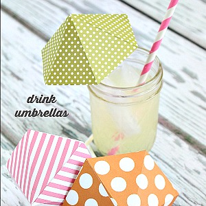 DIY Drink Umbrella Tutorial