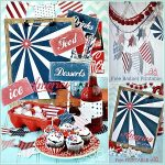 Fourth Of July Free Printable Set