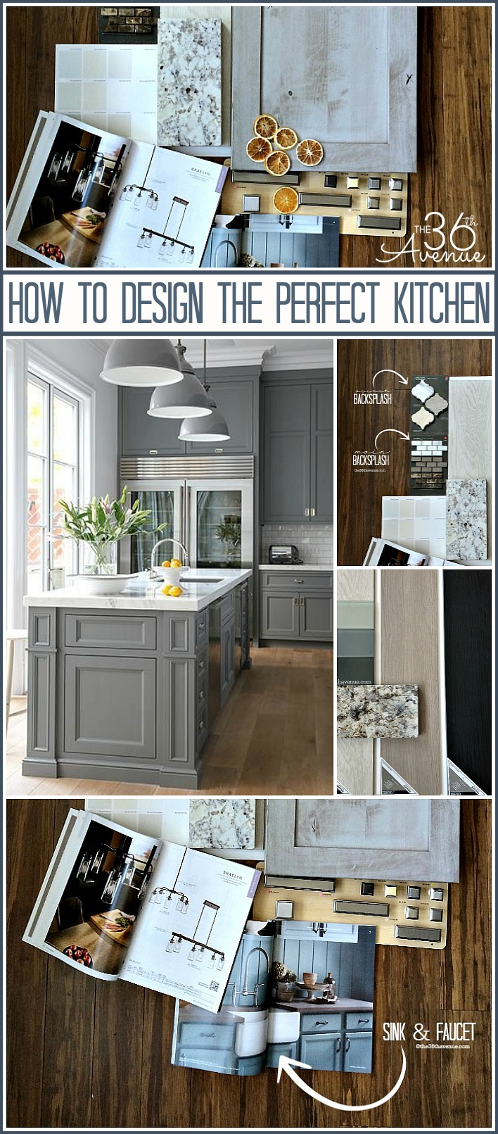 Kitchen Decor and Design Tips at the36thavenue.com