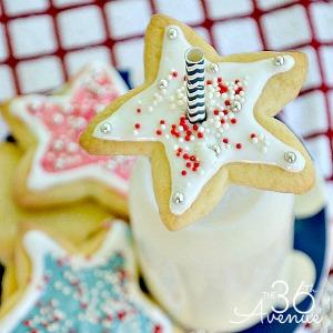 Three Ingredient Patriotic Cookies