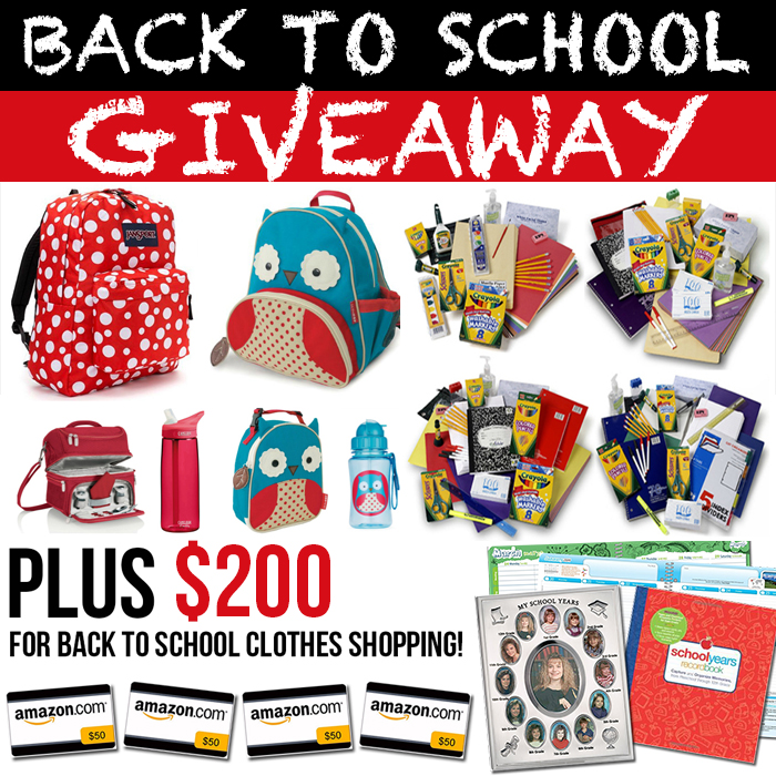 BACK TO SCHOOL GIVEAWAY... Everything you need at the36thavenue.com