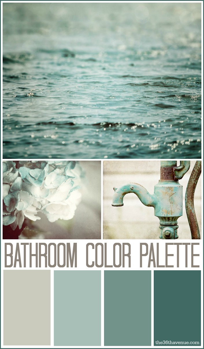 The 36th avenue bathroom decor ideas and design tips for Bathroom colors 2015