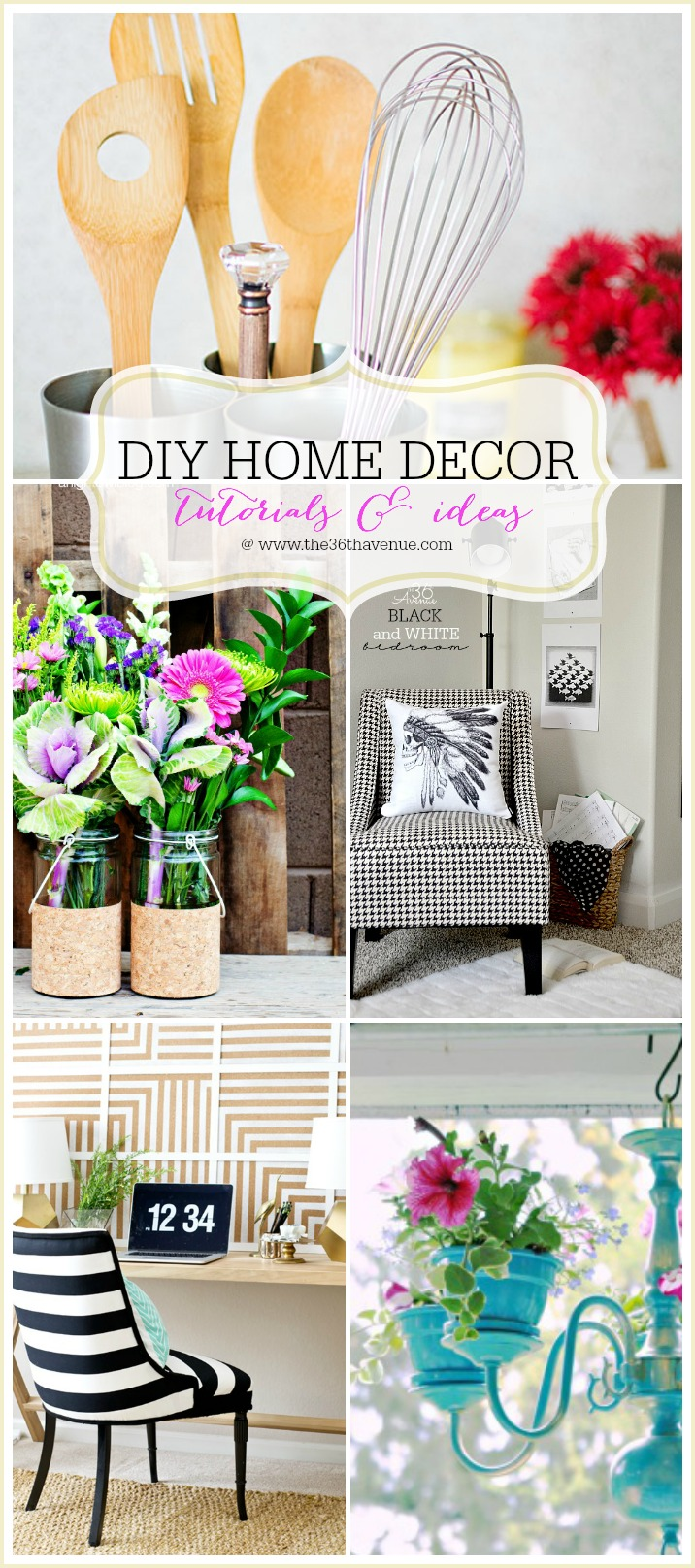 Home Decor DIY Projects that must be seen! the36thavenue.com