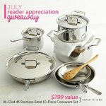 Awesome Cookware Set Giveaway