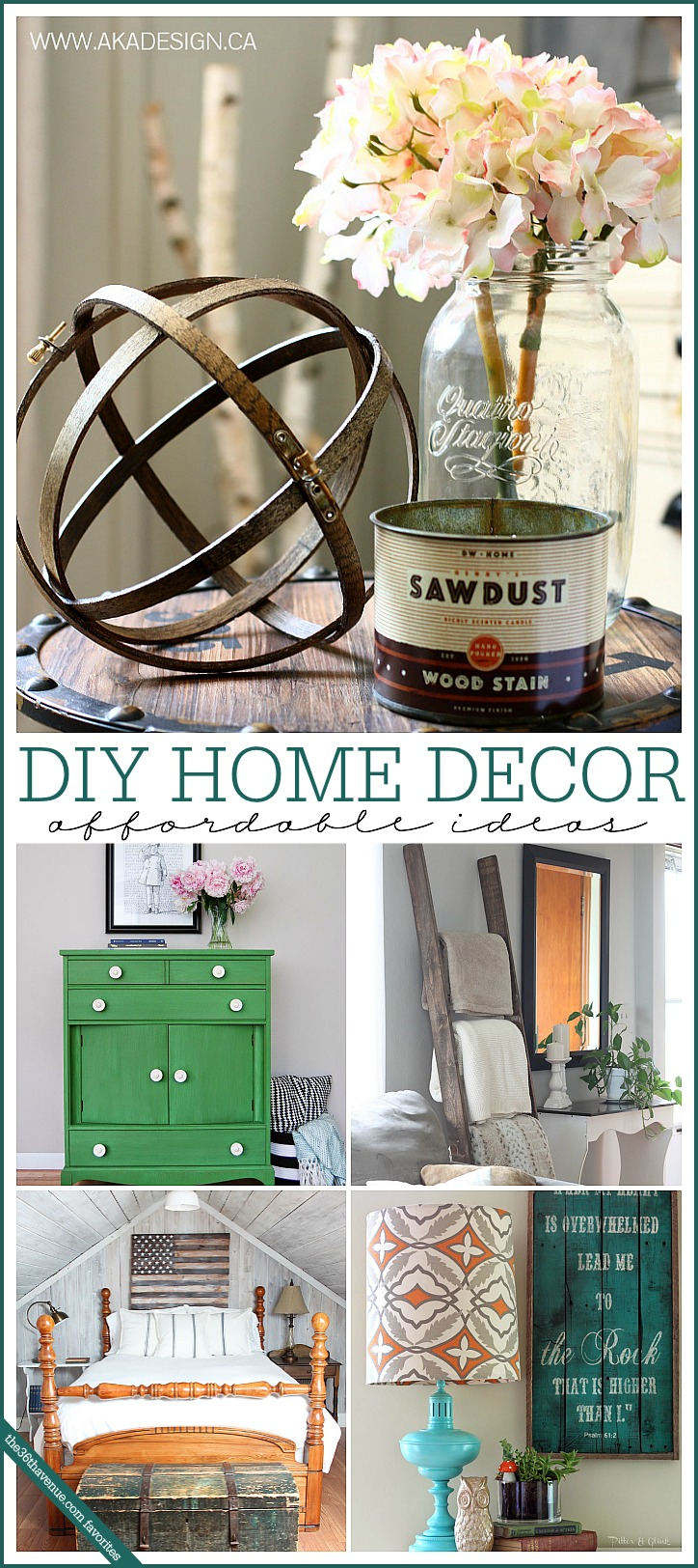 Home decor diy ideas the 36th avenue for Home decor ideas at home