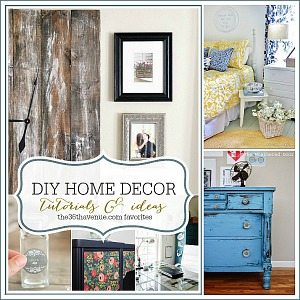 DIY Home Decor Ideas at the36thavenue.com