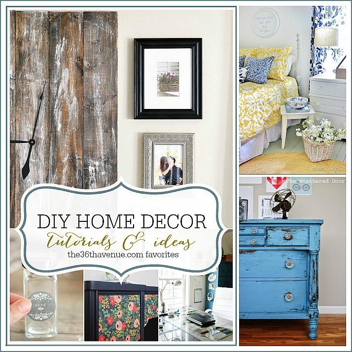 DIY Adorable Home Decor Ideas at the36thavenue.com