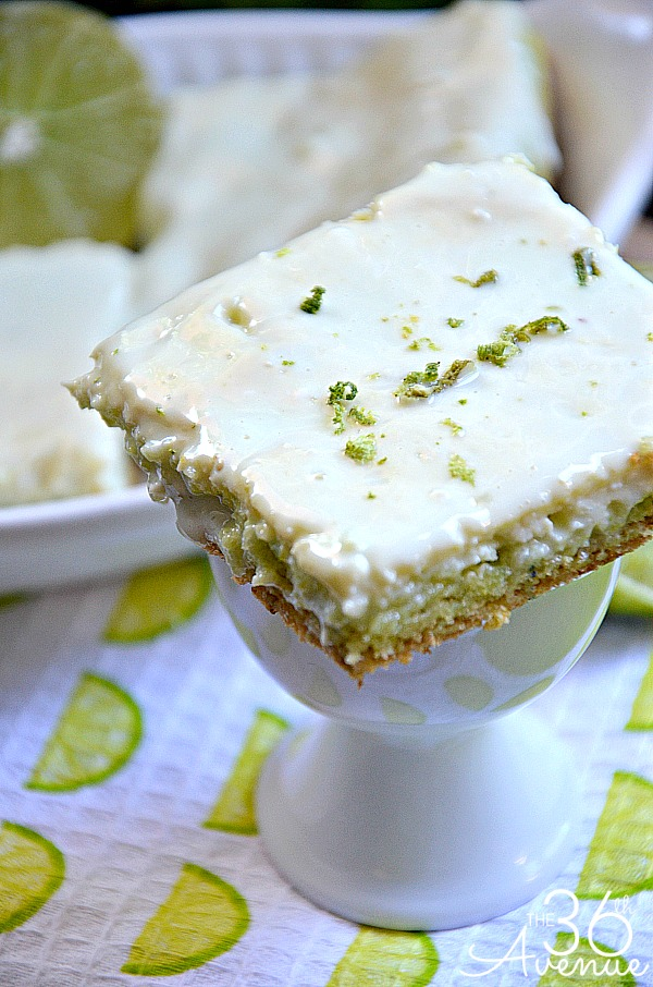 Key Lime Bar Recipe... These are so darn good! the36thavenue.com