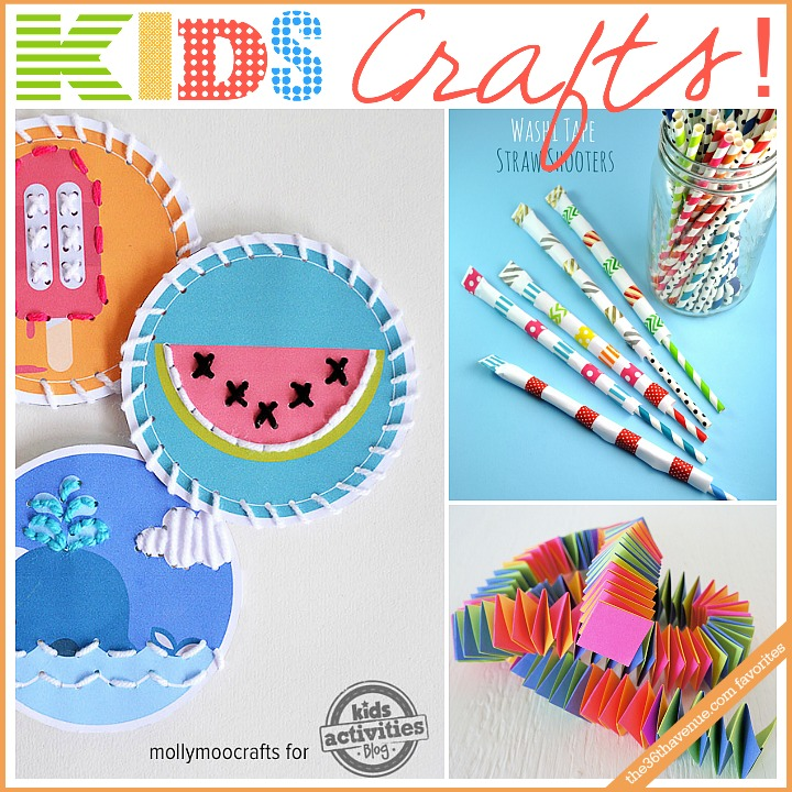 Super fun kids crafts and activities at the36thavenue.com #kids #crafts #diy