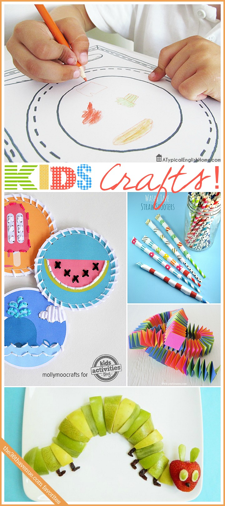 Kids Crafts at the36thavenue.com
