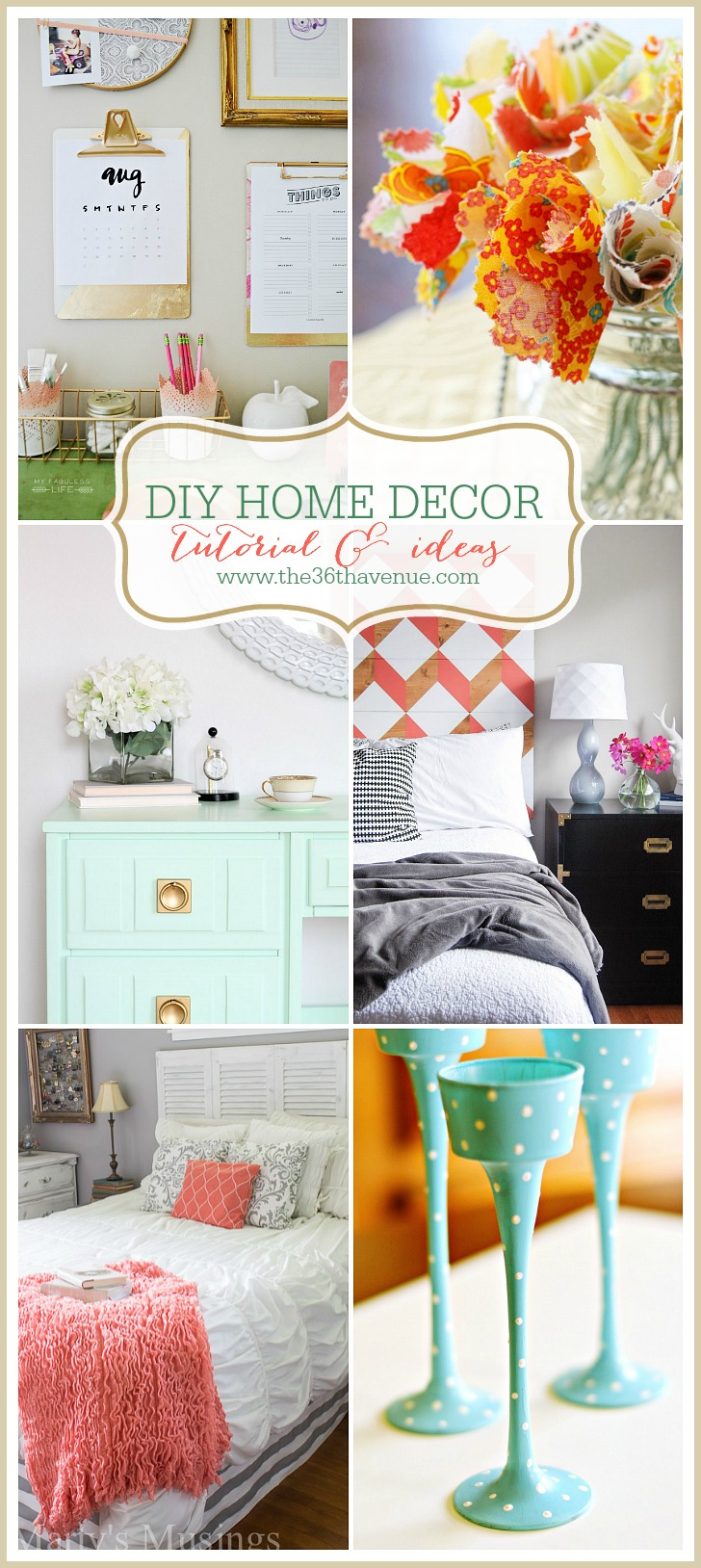DIY Home Decor Tutorials at the36thavenue.com