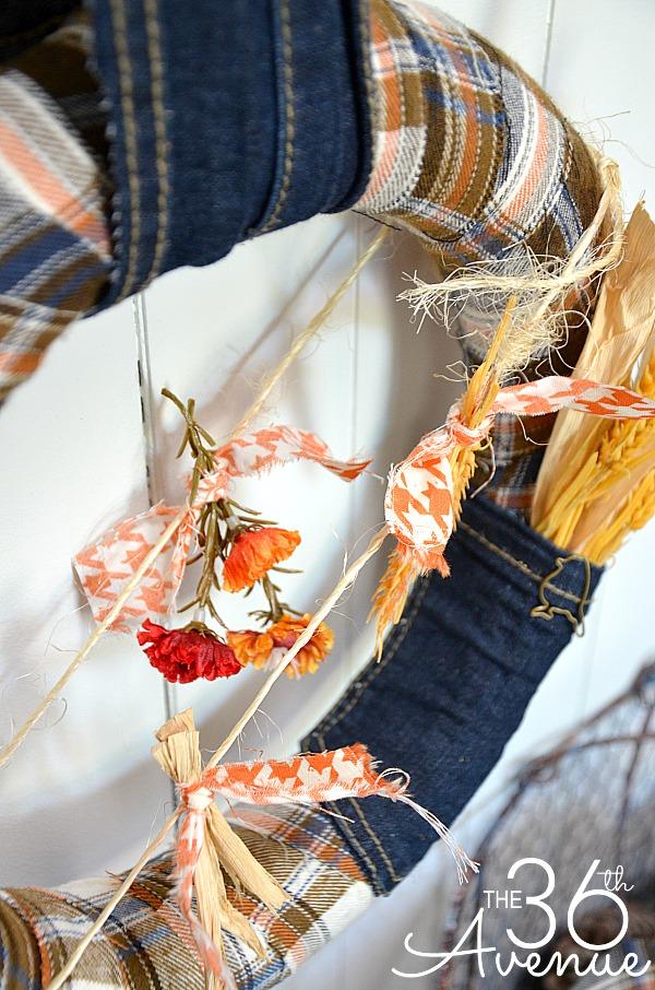 Fall Wreath Tutorial 4