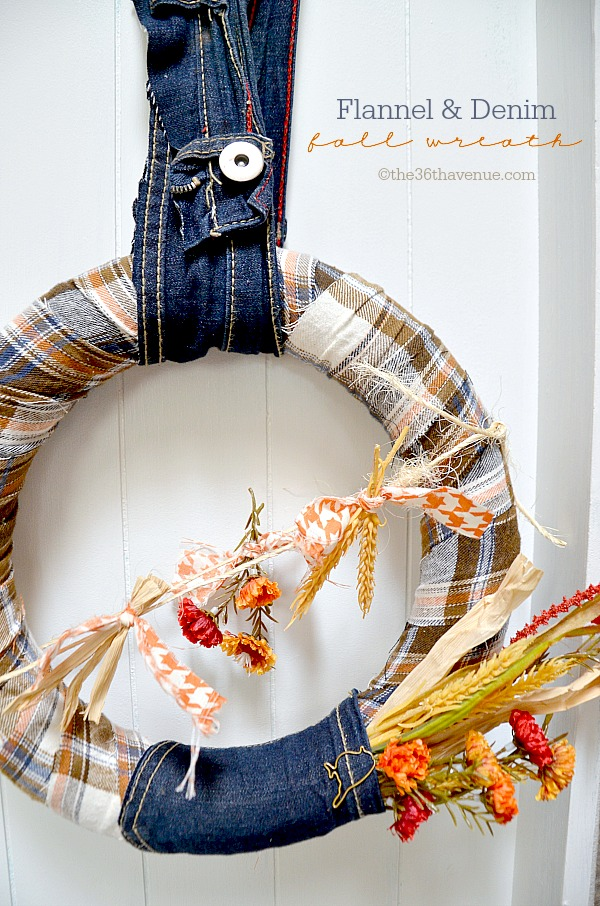 Fall Wreath Tutorial at The 36th Avenue