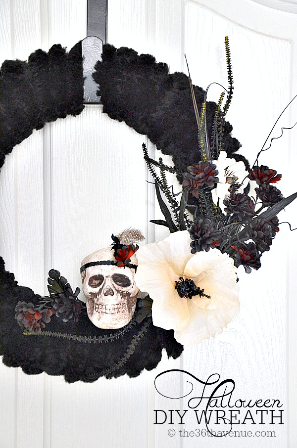 The 36th Avenue Halloween Wreath Tutorial The 36th Avenue