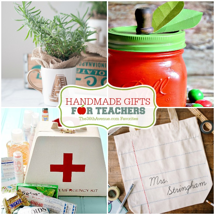 Handmade Gifts For Teachers The 36th Avenue