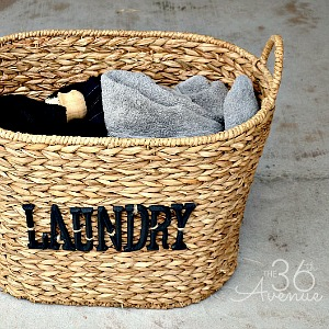 DIY Laundry Basket Tutorial