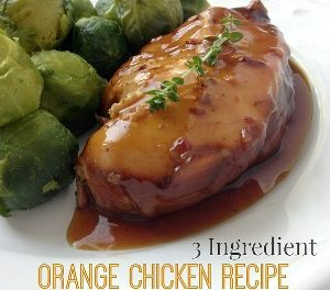 Orange Chicken Slow Cooker Recipe